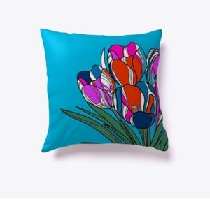Flora indoor pillow